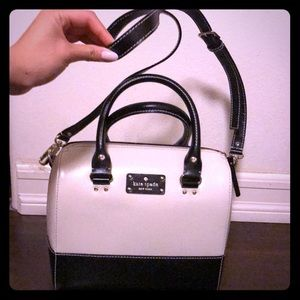 Cute cream and black Kate spade bag